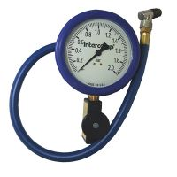 "4"" - 0-2 BAR Fill, Bleed & Read Air Pressure Gauges"