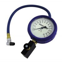 Fill, Bleed & Read Air Pressure Gauges