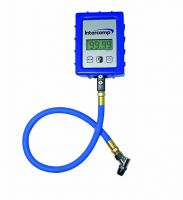 99.99 PSI Digital Air Pressure Gauge With Angle Chuck