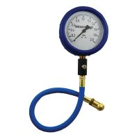 "4"" Ultra Deluxe 0-2 Bar Air Pressure Gauge"